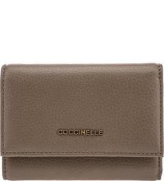 Кожаный кошелек на кнопке Metallic Soft Coccinelle