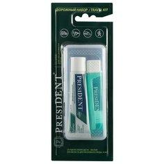 Зубная паста + щетка PresiDENT