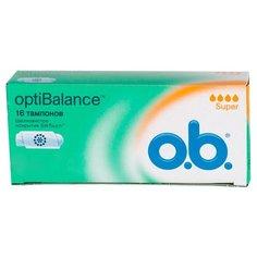 O.b. тампоны OptiBalance Super