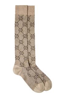 Хлопковые носки с люрексом Gucci
