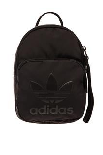 Черный мини-рюкзак с логотипом Adidas