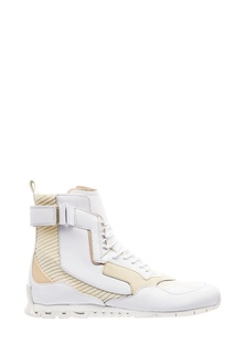 Комбинированные кроссовки-хайтопы Camper