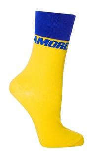 Сине-желтые носки Amore Artem Krivda