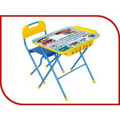 Набор мебели Nika Познайка стол стул большие гонки (КНП2-0282КП2/15)