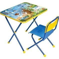 Набор мебели Nika Познайка стол стул Хочу все знать (КНП2-0282КП2/7)