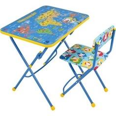 Набор мебели Nika Умничка 1 Стол-Стул Познаю мир