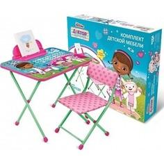 Набор мебели Nika Disney 1 Стол-Стул Доктор плюшева