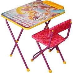 Набор мебели Nika Winx 2 Стол-Стул Азбука