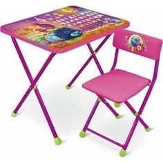 Набор мебели Nika Trolls Стол-Стул Тролли