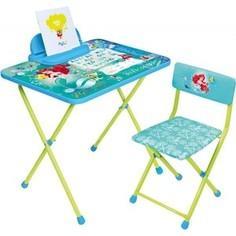 Набор мебели Nika Disney 4 Стол-Стул Русалочка