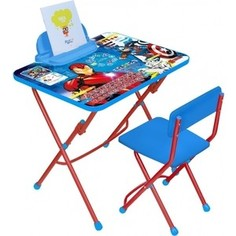 Набор мебели Nika Disney 3 Стол-Стул Мстители