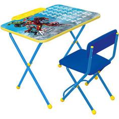 Набор мебели Nika Disney 2 Стол-Стул Мстители