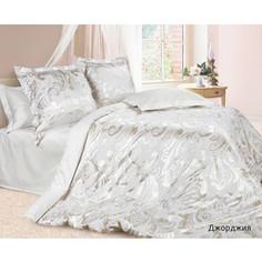 Комплект постельного белья Ecotex Семейный, сатин-жаккард, Джорджия (КЭДДжорджия)