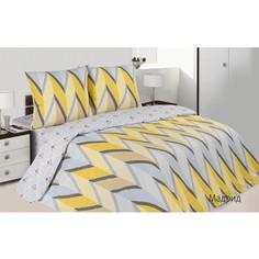 Комплект постельного белья Ecotex семейный, поплин, Поэтика Мадрид (4660054340208)