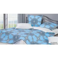 Комплект постельного белья Ecotex евро, сатин, Гармоника Ричмонд (4650074956923)