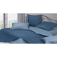 Комплект постельного белья Ecotex евро, сатин, Гармоника Ливерпуль (4660054340871)