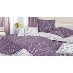 Комплект постельного белья Ecotex семейный, сатин, Гармоника Бруно (4660054340727)