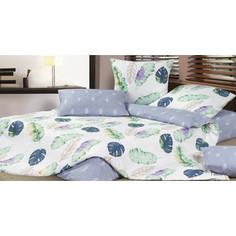 Комплект постельного белья Ecotex 2 сп, сатин, Гармоника Гавайи (4650074959054)