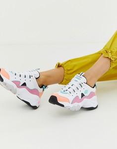 Массивные кроссовки со вставками пастельных цветов Skechers DLite 3.0 - Мульти