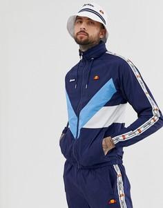 Темно-синяя спортивная куртка от комплекта с отделкой кантом ellesse Gerano - Темно-синий