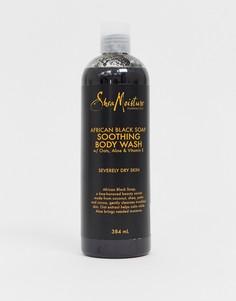 Успокаивающее средство для тела с африканским черным мылом Shea Moisture, 384 мл - Бесцветный