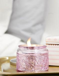 Свеча в контейнере с крышкой Candlelight - Розовый