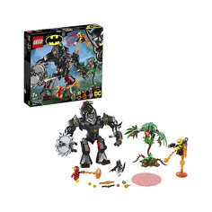 Конструктор LEGO Super Heroes 76117: Робот Бэтмена против робота Ядовитого Плюща