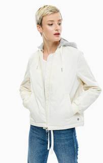 Легкая куртка-бомбер со съемным капюшоном Marc Opolo