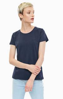 Хлопковая футболка с круглым вырезом Gant