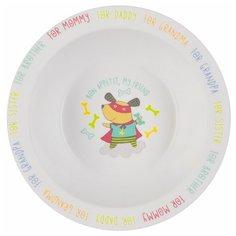 Тарелка Happy Baby глубокая 15029