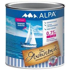 Лак Alpa Яхтный 0.75 л