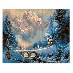 Molly Картина по номерам Зима в