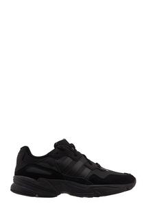 Черные кроссовки Yung Adidas