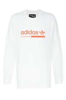 Белый лонгслив Kaval Graphic Adidas