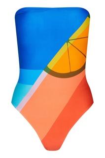 Разноцветный купальник Sunset Salinas