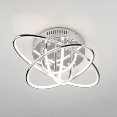 Потолочный светодиодный светильник Eurosvet 90132/7 хром