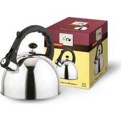 Чайник 2.0 л со свистком Teco (TC-119)