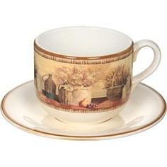 Чашка с блюдцем LCS Натюрморт (LCS933_T_PV-AL)