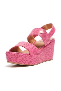 platform sandals Love Moschino