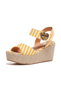 wedge sandals Love Moschino