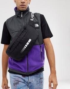 Черная сумка-кошелек на пояс с ремешком через плечо ASOS DESIGN - Черный