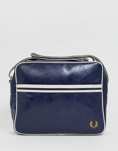 Темно-синяя сумка почтальона Fred Perry - Темно-синий