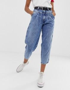 Суженные книзу джинсы в стиле ретро Wrangler - Синий