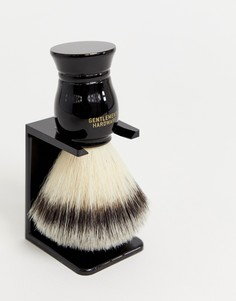 Помазок для бритья и подставка Gentlemens Hardware - Черный