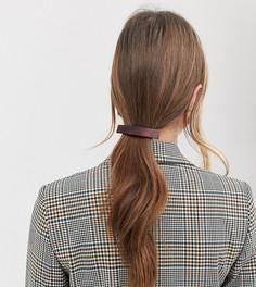 Черепаховая заколка для волос DesignB London - Коричневый