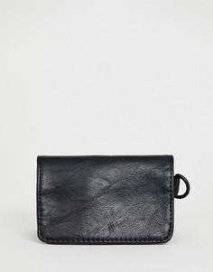 Черный кошелек для монет Bershka - Черный