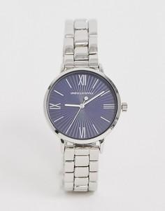 Серебристые часы-браслет ASOS DESIGN - Серебряный
