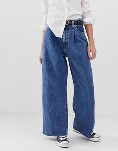 Широкие джинсы со складками и отделкой спереди Levis - Синий Levis®