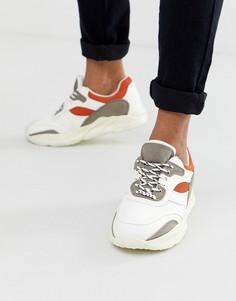 Белые кроссовки New Look - Белый