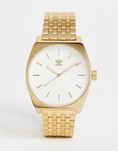 Часы с белым циферблатом Adidas Z02 Process - Золотой